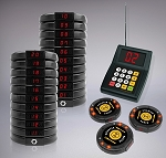 20 Restaurant Coaster Pager / Guest Wireless Paging Queuing System