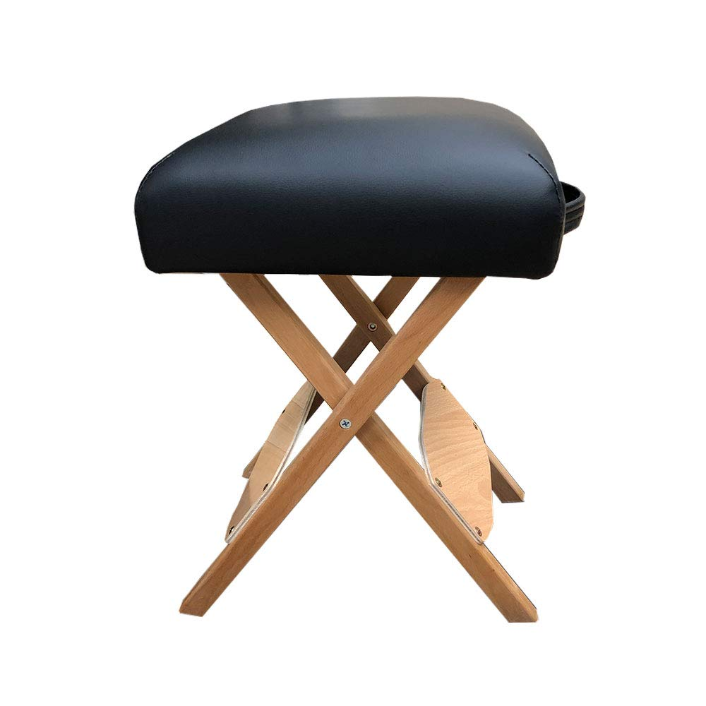 Handy Wooden Folding Bench Stool Padded With Thick