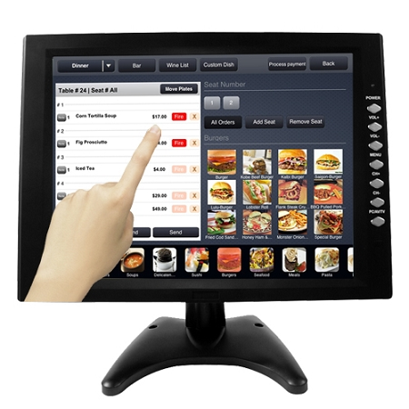 New 12 Quot Touch Screen Pos Tft Lcd Touchscreen Monitor