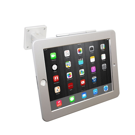 ipad pos wall mount stand or desktop stand wsecurity lock