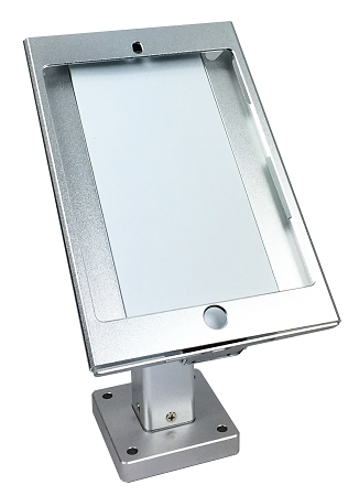 ipad mini desktop wall mount pos antitheft stand enclosure security lock kiosk