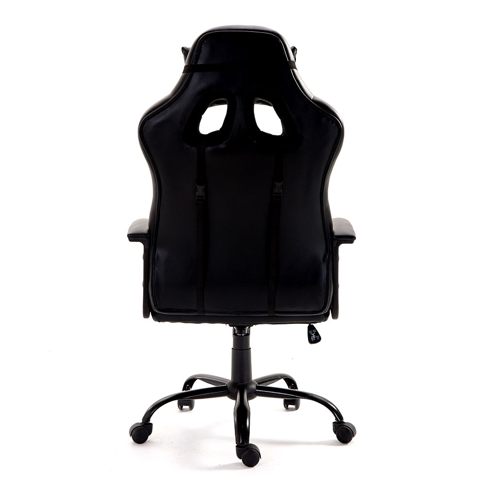 Fabulous High Back Ergonomic Racing Car Style Pu Leather Upholstered Seat Gaming Chair Removable Headrest Pillow And Lumbar Cushion For Computer Desk Office Caraccident5 Cool Chair Designs And Ideas Caraccident5Info