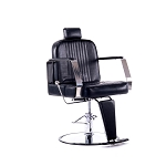 Deluxe Heavy Duty Hydraulic Reclining Barber Salon Chair Styling for Hair Cutting Beauty SPA Equipment Shampoo Tattoo Recline Bed Shaving