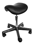 Angel Hydraulic Saddle Massage Stool Ergonomic Comfortable Rolling Adjustable Salon Swivel Saddle Seat