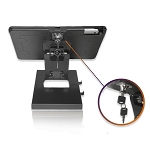 Desktop Anti-Theft POS Stand Holder Enclosure with Lock Compatible with iPad 10.2