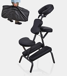 Professional Portable Massage Chair Foldable Salon Tattoo Spa w/ Free Carry Case