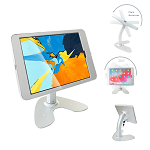 Tablet Desktop Rotation Base Anti-Theft POS Stand, Compatible with 12.9