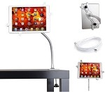 Universal Tablet Desktop Stand with Adjustable Gooseneck (90cm)