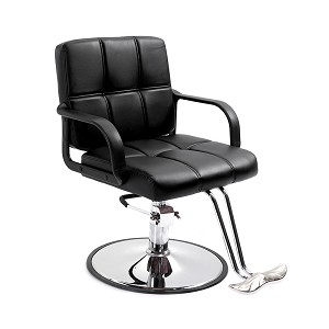 All Purpose Hydraulic Barber Salon Chair Styling for Hair Cutting Beauty SPA Equipment Shampoo Tattoo Bed Shaving