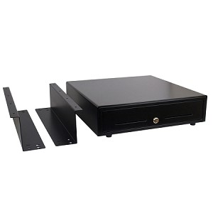 "16"" Automatic POS Cash Drawer & Under Counter Mounting Brackets Bundle"