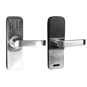 Angel Digital Electronic Backlit Keypad Door Lock with Backup Keys, Keyless Entry by Password Code Combination, Great for Resort Apartment Cottage, home, office, warehouse, condo, rental unit, club, gym