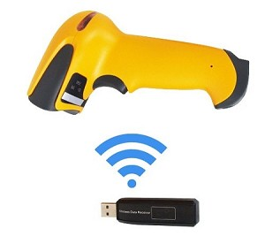 Wireless Bar Code Scanner with Built-in Rechargeable Battery