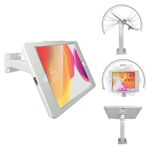 iPad 10.2 POS Wall Mount  Stand or Desktop Stand w/Security Lock