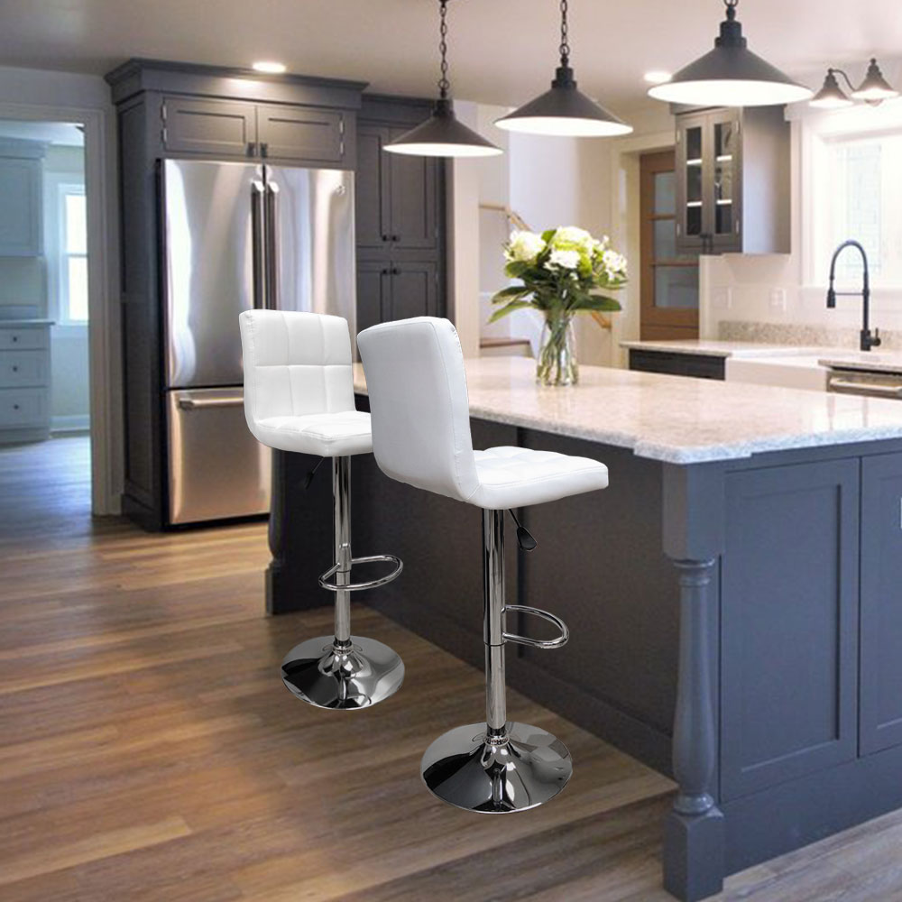 counter height chairs for kitchen island angel canada hexagrid swivel pu leather height adjustable hydraulic bar stool pub chair kitchen 9352